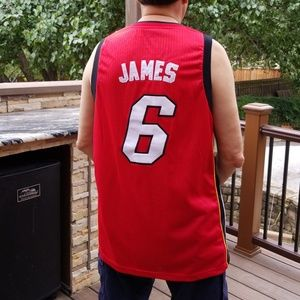 ADIDAS LeBron James Miami HEAT #6  Swingman Jersey